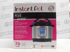 1 BOXED INSTANT POT DUO EVO PLUS 10 IN 1 ELECTRIC PRESSURE COOKER 7.6L RRP £149