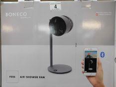 1 BOXED BONECO AIR SHOWER FAN F225 - DIGITAL WITH BLUETOOTH CONTROL RRP £249