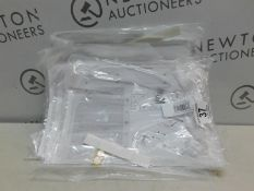 1 SET OF 10 (APRX) BRAND NEW BOUCLIER FACIAL ANTI-PROJECTION FULL FACE SHIELD VISORS RRP £9.99