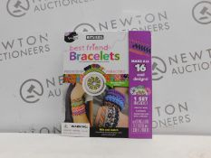 1 BOXED SPICEBOX KITS FOR KIDS BEST FRIEND BRACELETS AND CROSS STITCH RRP £29