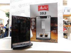 1 BOXED MELITTA SOLO PURE BLACK BEAN TO CUP COFFEE MACHINE E950-222 RRP £299.99