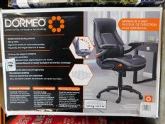 1 BOXED DORMEO OCTASPRING TECHNOLOGY TRUE INNOVATIONS MANAGER'S OFFICE CHAIR RRP £199