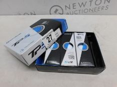 1 BOXED TAYLORMADE TP5 GOLF BALLS RRP £39.99 (9 BALLS IN THE BOX)