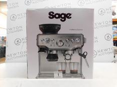 1 BOXED SAGE BARISTA EXPRESS BES875UK BEAN TO CUP COFFEE MACHINE RRP £599 (LIKE NEW)
