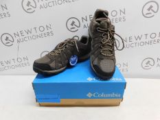 1 BOXED PAIR OF MENS COLUMBIA REDCREST WATERPROOF SHOES UK SIZE 12 RRP £79