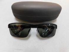 1 PAIR OF JAGUAR SUNGLASESS FRAME WITH CASE MODEL 37331 RRP £99.99