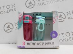 1 BOXED PACK OF 2 ZULU WATER BOTTLES RRP £29