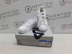1 BOXED PAIR OF WOMENS FILA REDMOND TRAINERS UK SIZE 4.5 RRP £39
