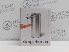 1 BOXED SIMPLE HUMAN SENSOR PUMP SOAP DISPENSER RRP £69
