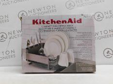 1 BOXED KITCHEAID DISH-DRYING RACK RRP £34.99