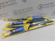 4 PACKS OF MICHELIN STEALTH WIPER BLADES IN VARIOUS SIZES RRP £49.99