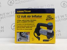 1 BOXED GOODYEAR 12 VOLT INFLATOR RRP £39.99