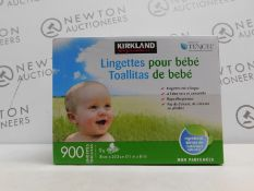 1 BOXED KIRKLAND SIGNATURE SOFT BABY WIPES RRP £39.99