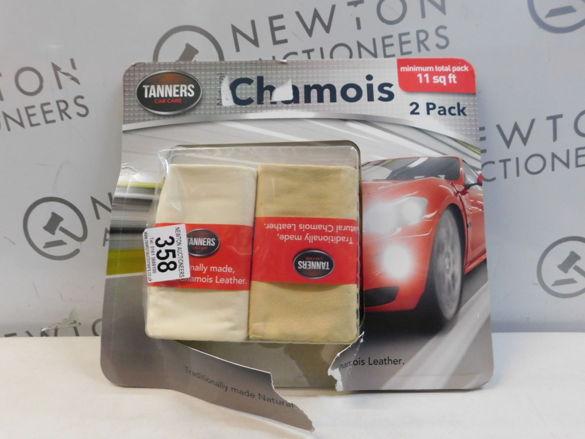 1 PACKED TANNERS TRADITIONALLY MADE, NATURAL CHAMOIS LEATHER RRP £29.99