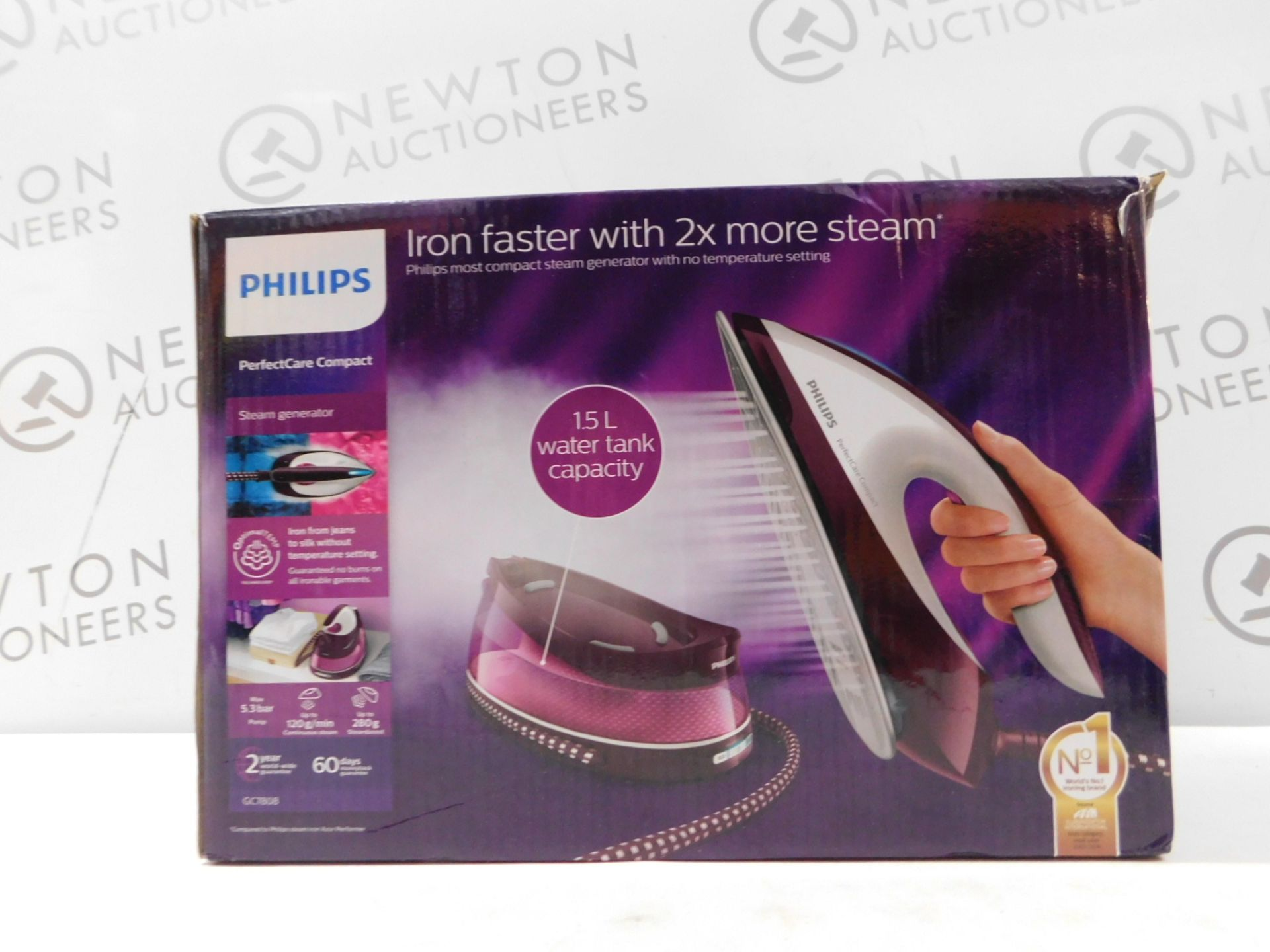 1 BOXED PHILIPS PERFECTCARE COMPACT STEAM GENERATOR IRON RRP £169