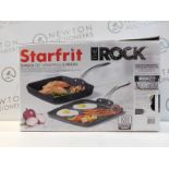 1 BOXED STARFRIT THE ROCK GRILL PAN RRP £39 (ONLY PAN IN BOX)
