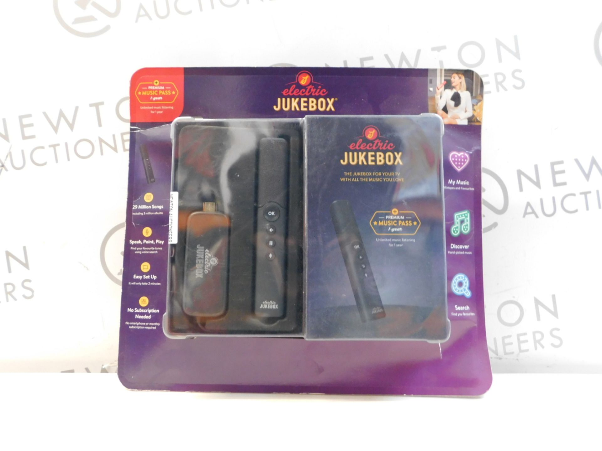 1 PACK OF ELECTRIC JUKEBOX STICK WITH REMOTE CONTROL RRP £199
