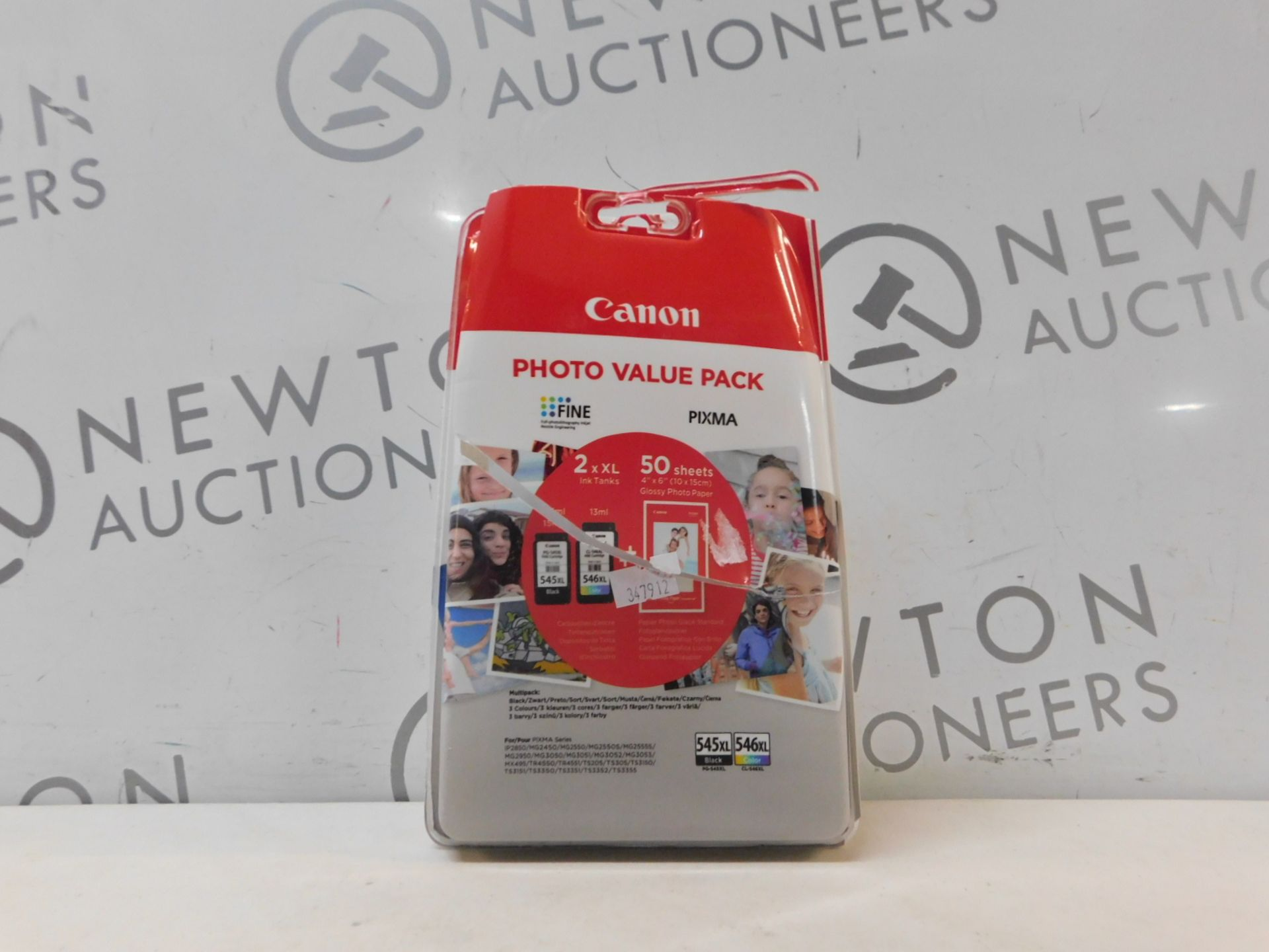 1 PACK OF CANON PIXMA PRINTER INK 545XL AND 546XL RRP £29