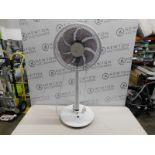 """1 NSA 12"""" TOUCH SAFE PEDESTAL FAN SFDC-30213RC RRP £99 (WITH REMOTE)"""