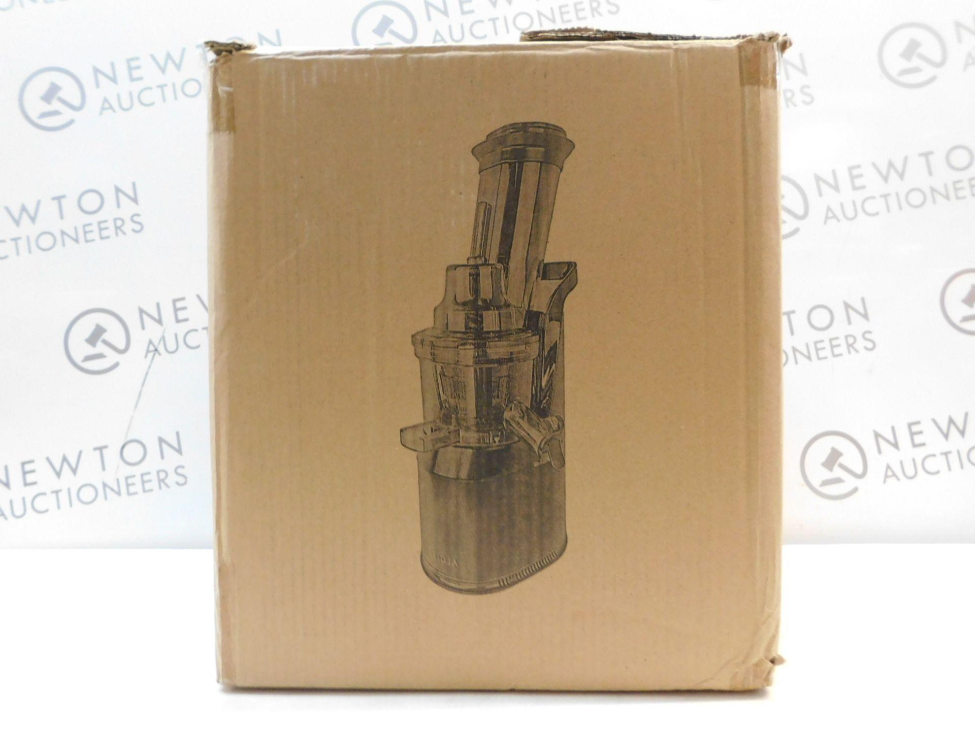1 BOXED FRIDJA F1900 BLK 240W POWERFUL MASTICATING JUICER RRP £149.99