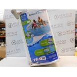 1 BOXED POLYGROUP SUMMER WAVES 3.05Mx76CM SWIMMING POOL SET RRP £64.99