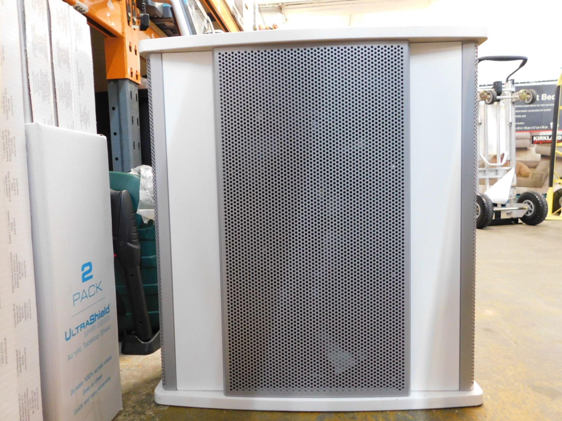 1 WOOD'S GRAN 900 AIR PURIFIER WITH 4 SPEED FILTRATION, AIR CLEANER RRP £299