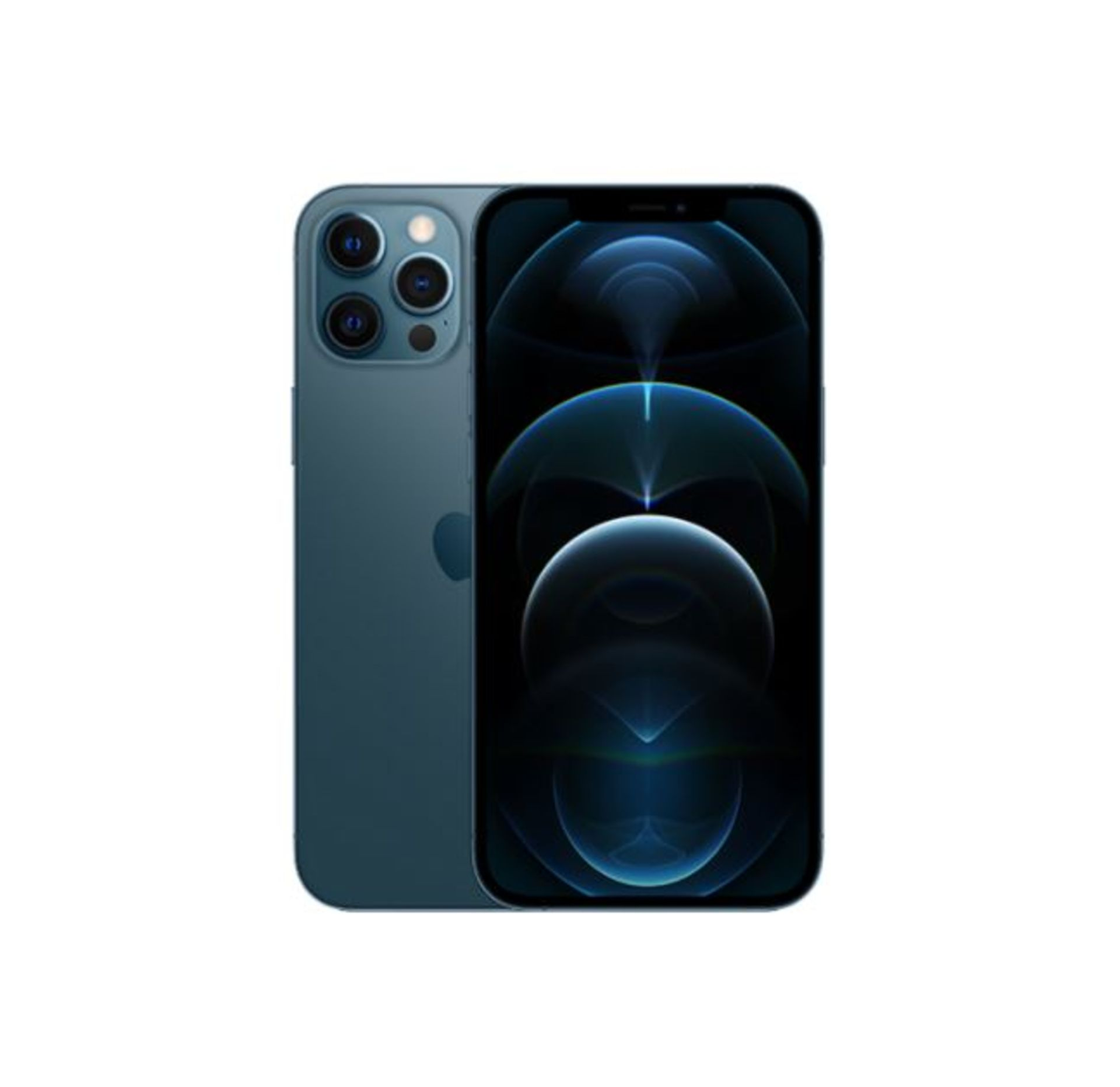 1 BOXED APPLE IPHONE 12 PRO MAX PACIFIC BLUE 256GB RRP £1199 (APPLE WARRANTY TILL DECEMBER 2021)