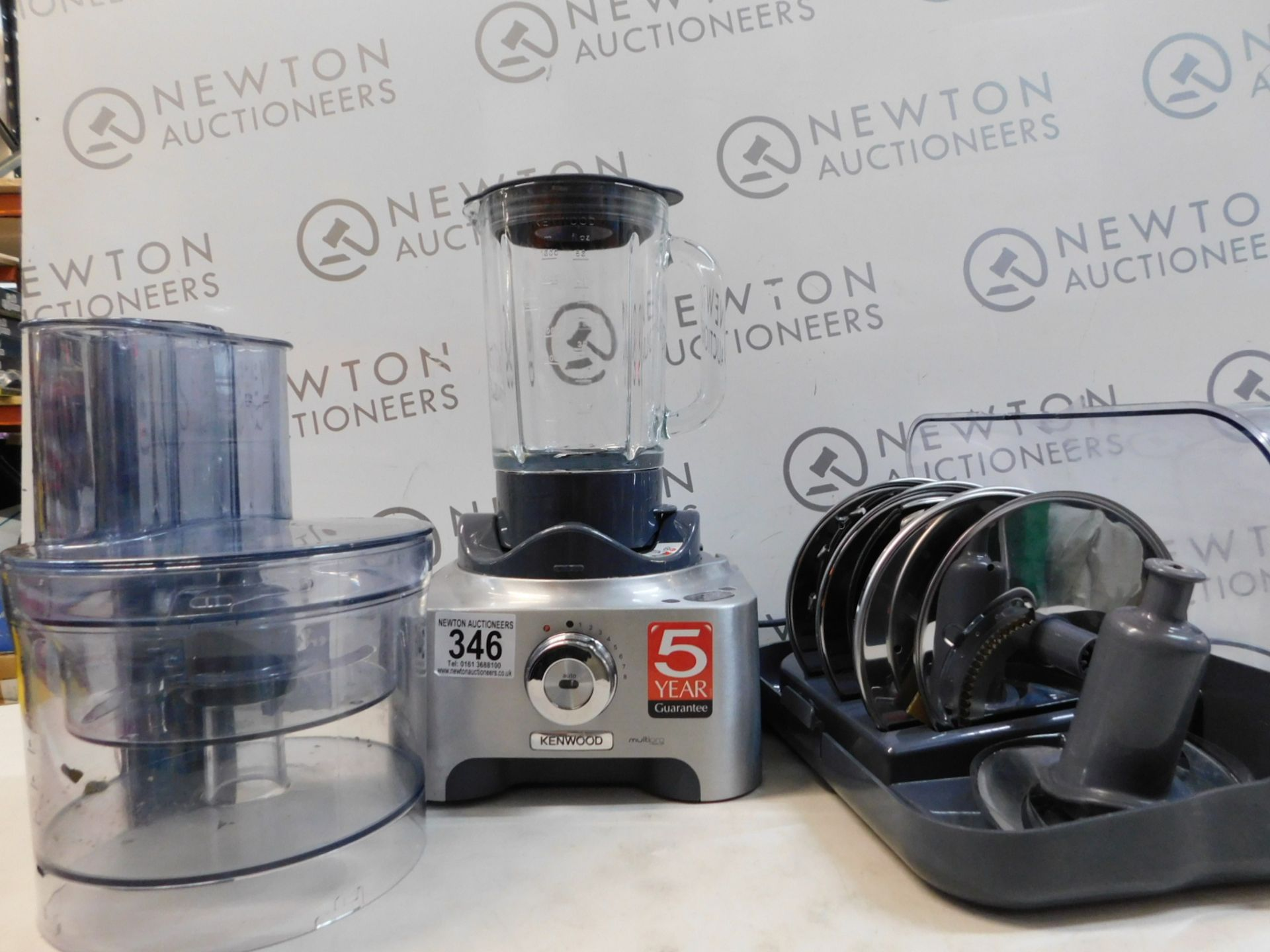 1 KENWOOD MULTIPRO EXCEL FOOD PROCESSOR FPM91 WITH AUTO VARIABLE SPEED CONTROL RRP £499