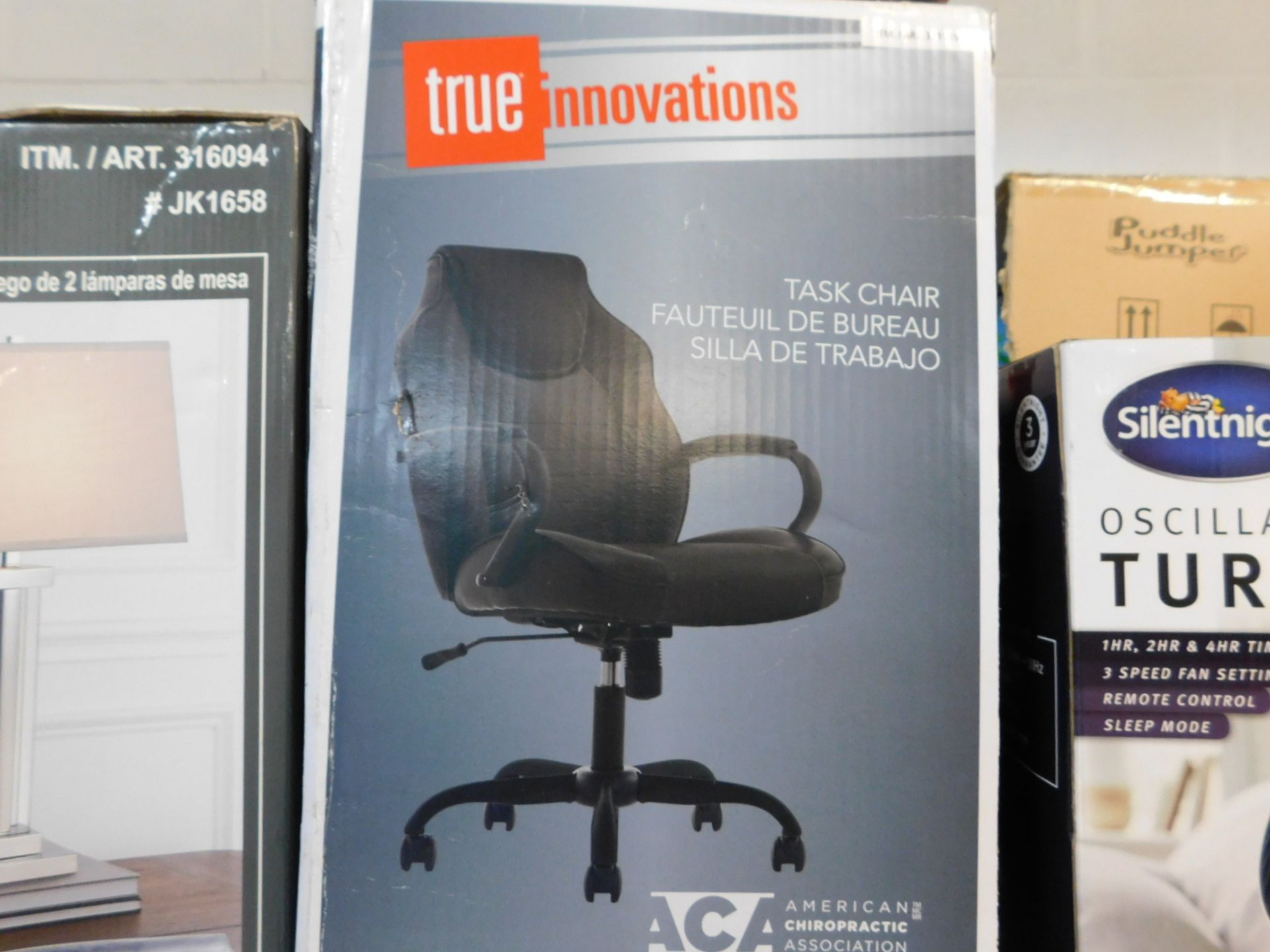 1 BOXED TRUE INNOVATIONS BACK TO SCHOOL OFFICE CHAIR RRP £99