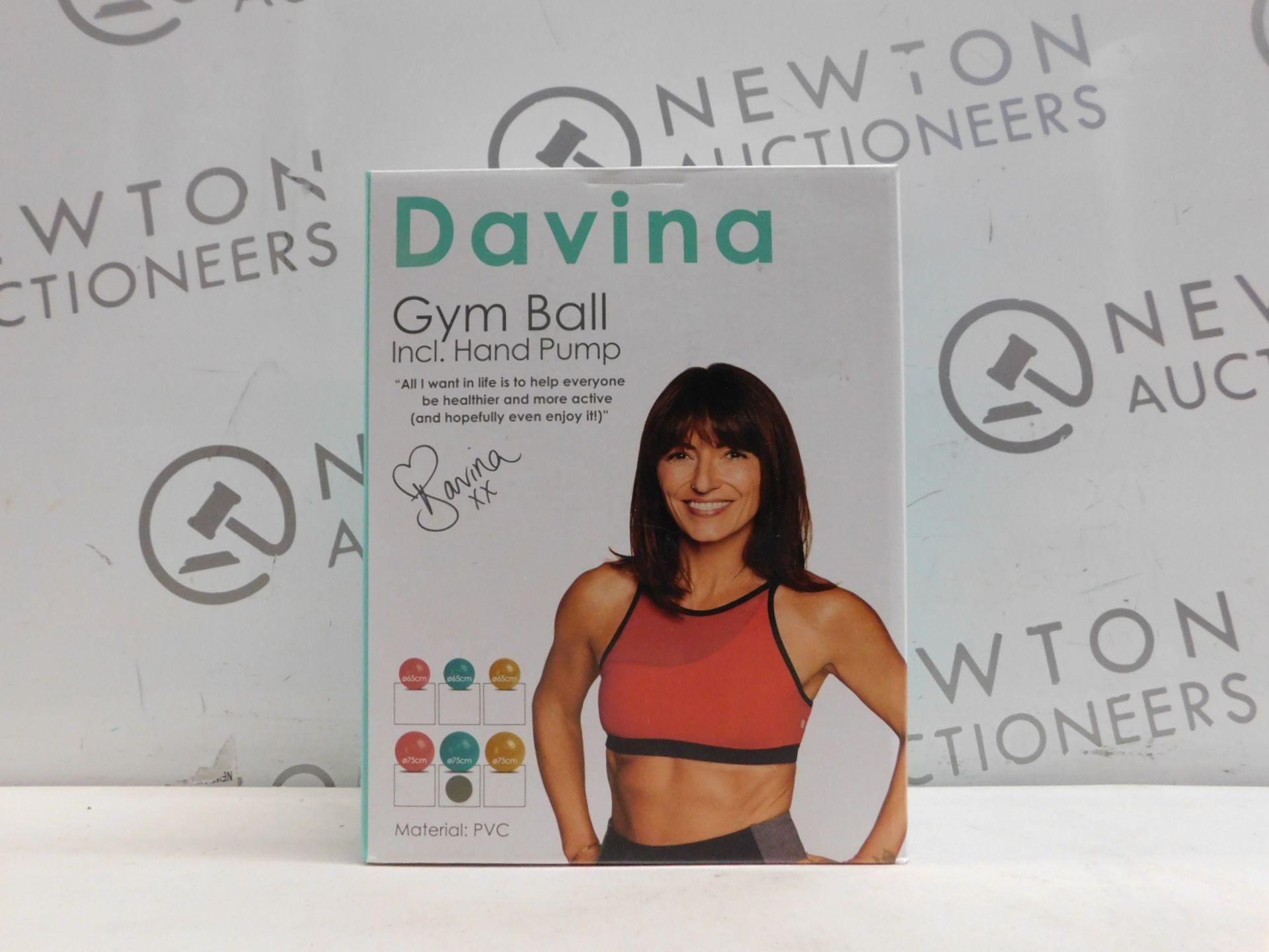 1 BRAND NEW BOXED DAVINA GYM BALL RRP £19