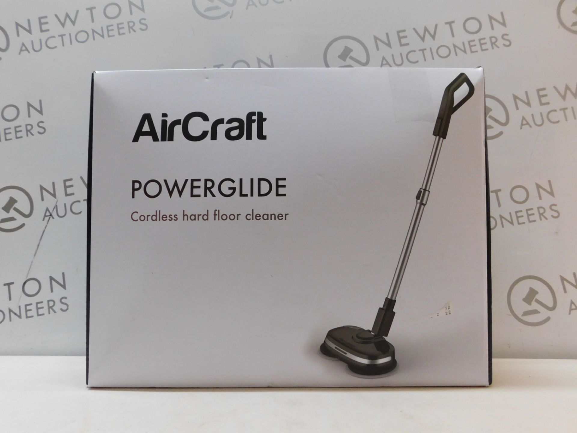 1 BOXED AIRCRAFT POWERGLIDE CORDLESS HARD FLOOR CLEANER & POLISHER RRP £199