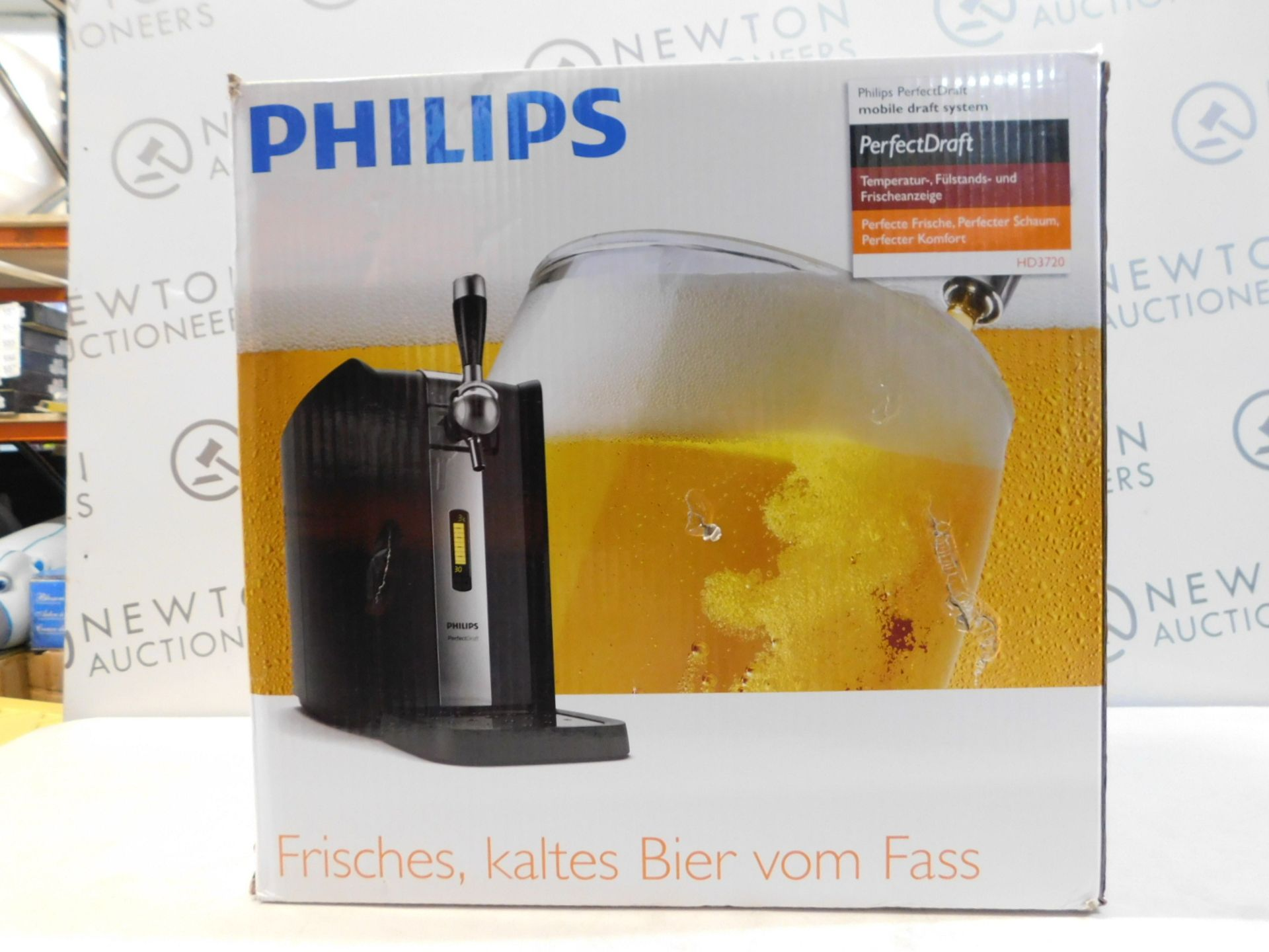 1 BOXED PHILIPS PERFECTDRAFT HOME BEER DRAFT SYSTEM RRP £259