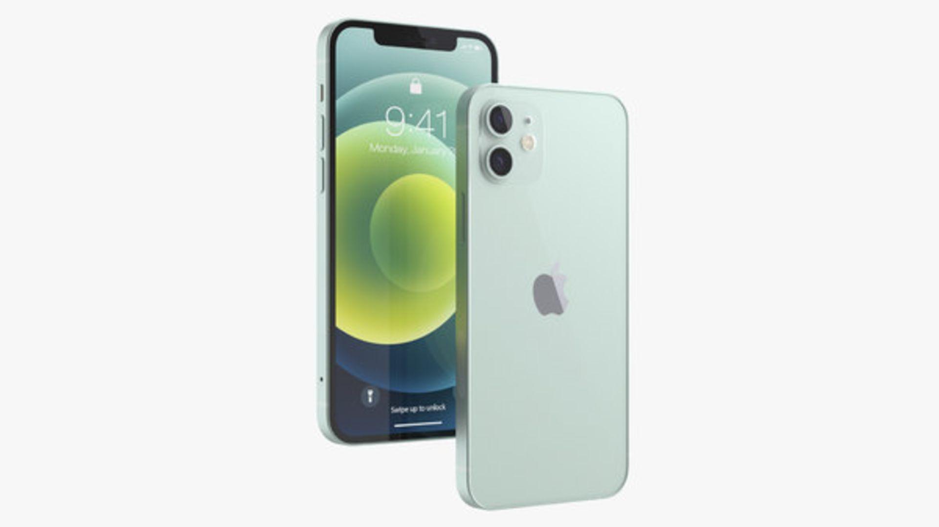 1 BOXED APPLE IPHONE 12 128GB UNLOCKED IN GREEN MODEL A2403 RRP £849 (APPLE WARRANTY TILL MAY 2022)