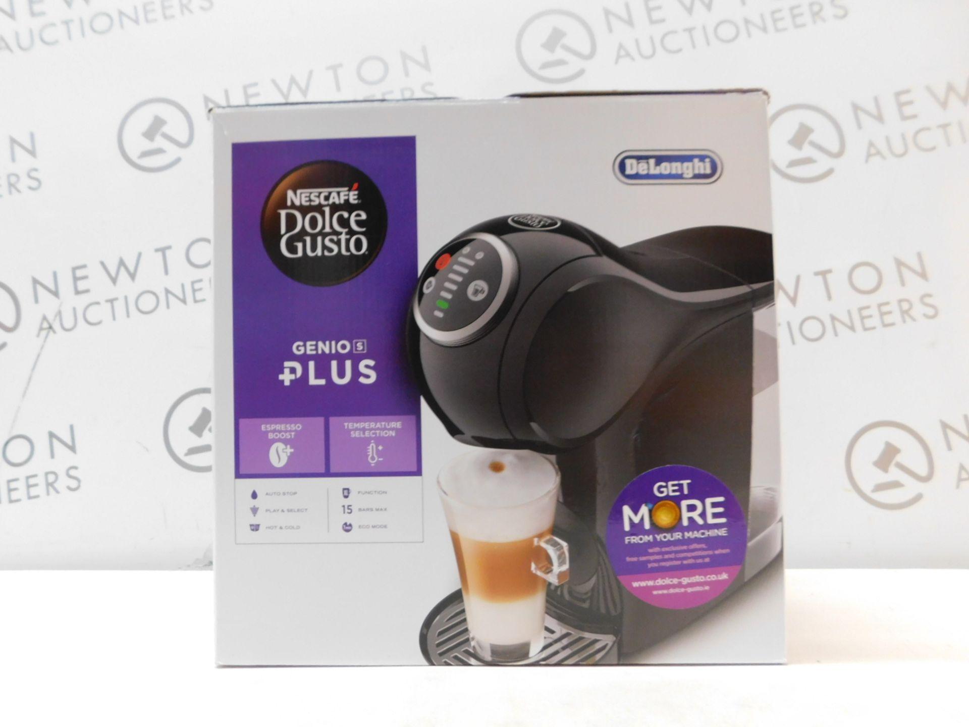 1 BOXED EDG315.B GENIO S PLUS NESCAFÉ DOLCE GUSTO COFFEE MACHINE RRP £99