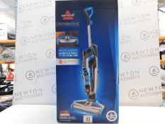 1 BOXED BISSELL CROSSWAVE ALL IN ONE MULTI-SURFACE CLEANING SYSTEM RRP £249.99