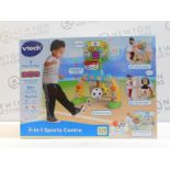 1 BOXED VTECH 3-IN-1 SPORTS CENTRE RRP £39.99