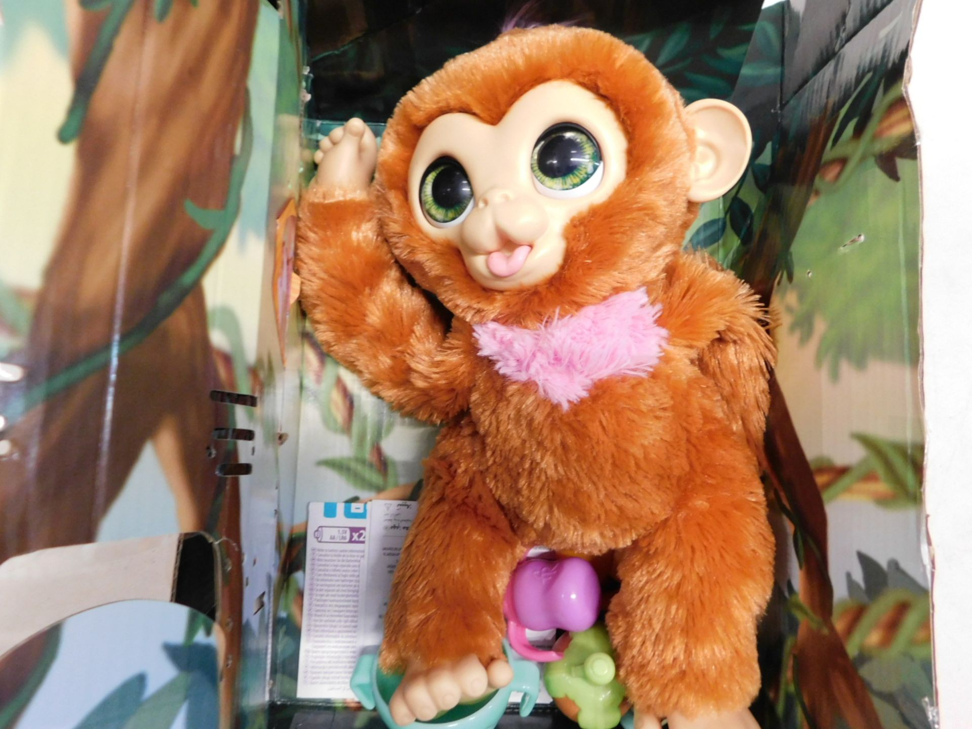 1 FURREAL PIPER MY BABY MONKEY INTERACTIVE ANIMATRONIC PLUSH TOY (4+ YEARS) RRP £49