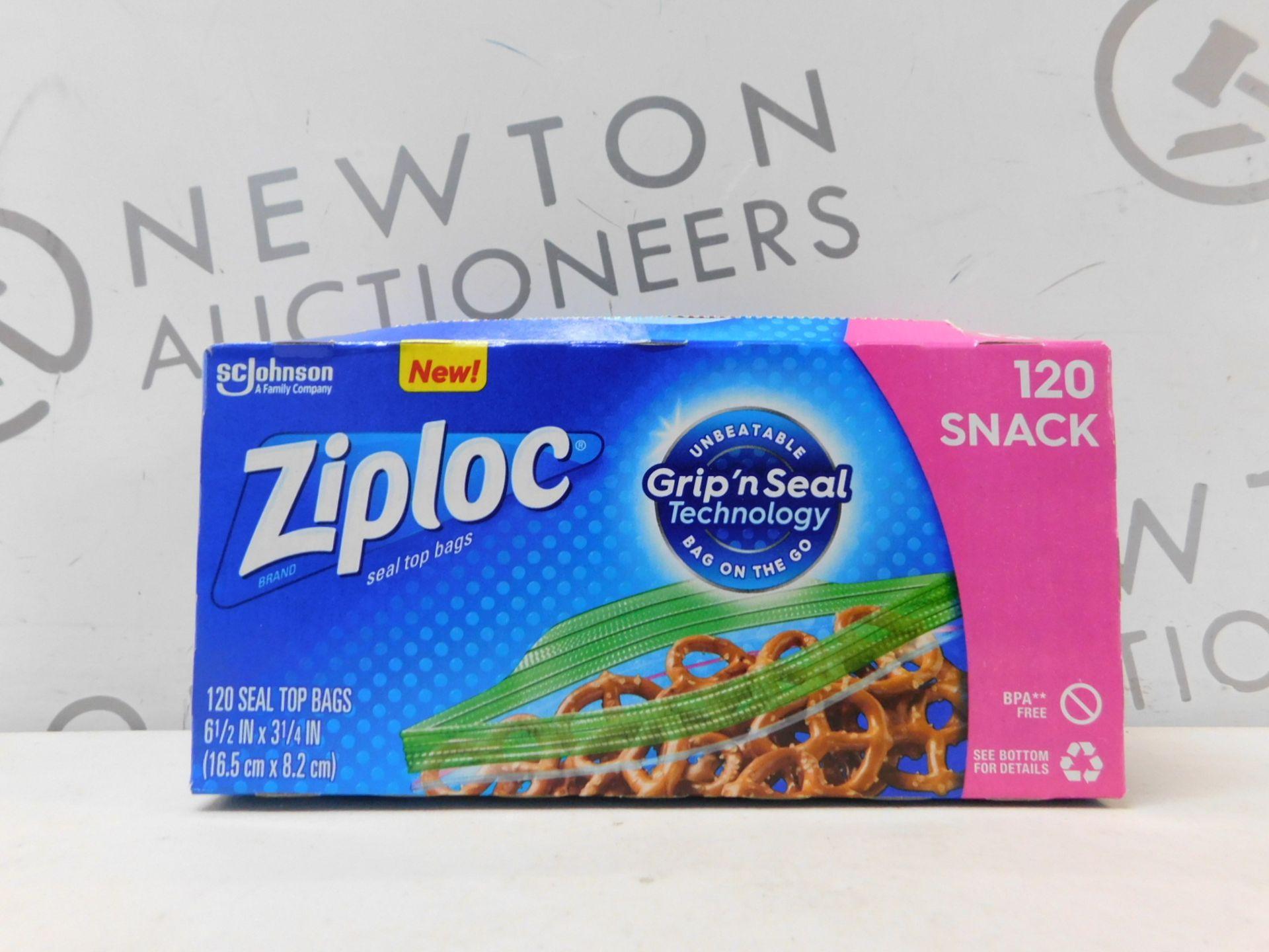 1 BOX OF ZIPLOC TOP SEAL BAGS RRP £12.99