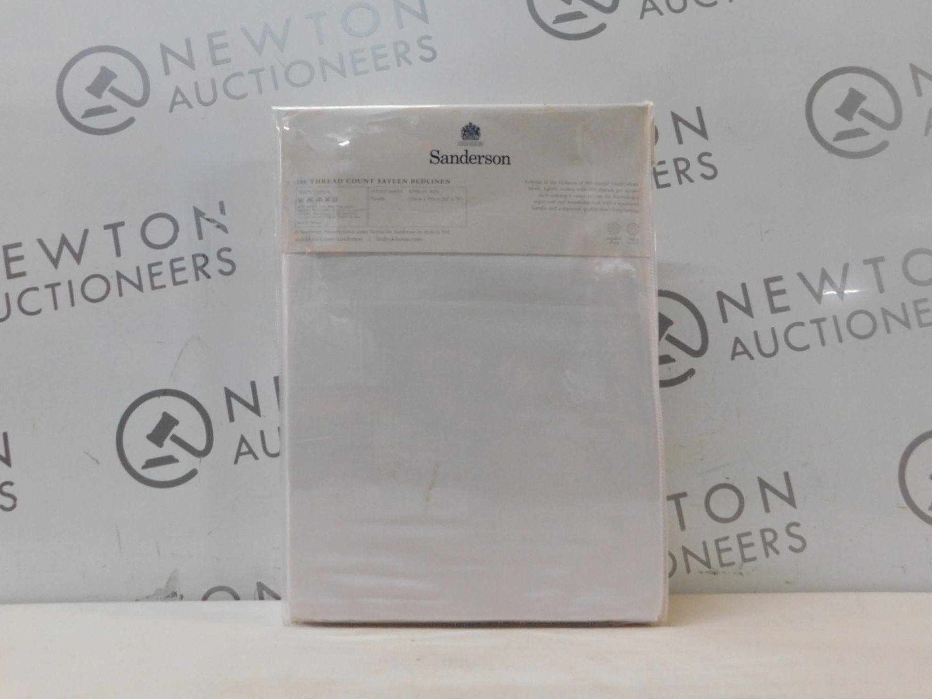 1 PACKED SANDERSON DOUBLE SIZE FITTED SHEET RRP £39