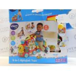 1 BOXED VTECH 4-IN-1 ALPHABET TRAIN RRP £69