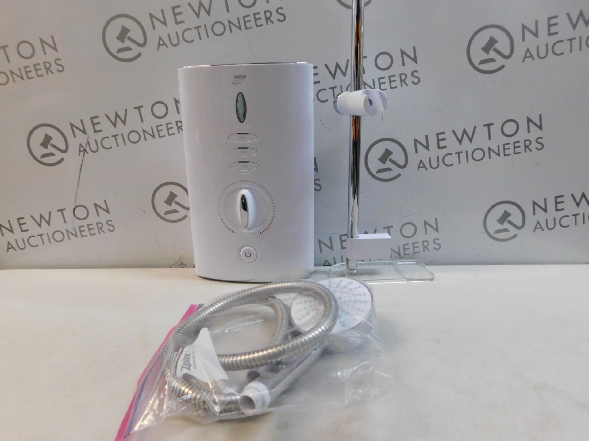 1 MIRA SHOWERS MIRA SPORT MAX WITH AIRBOOST WHITE 9KW MANUAL ELECTRIC SHOWER RRP £199
