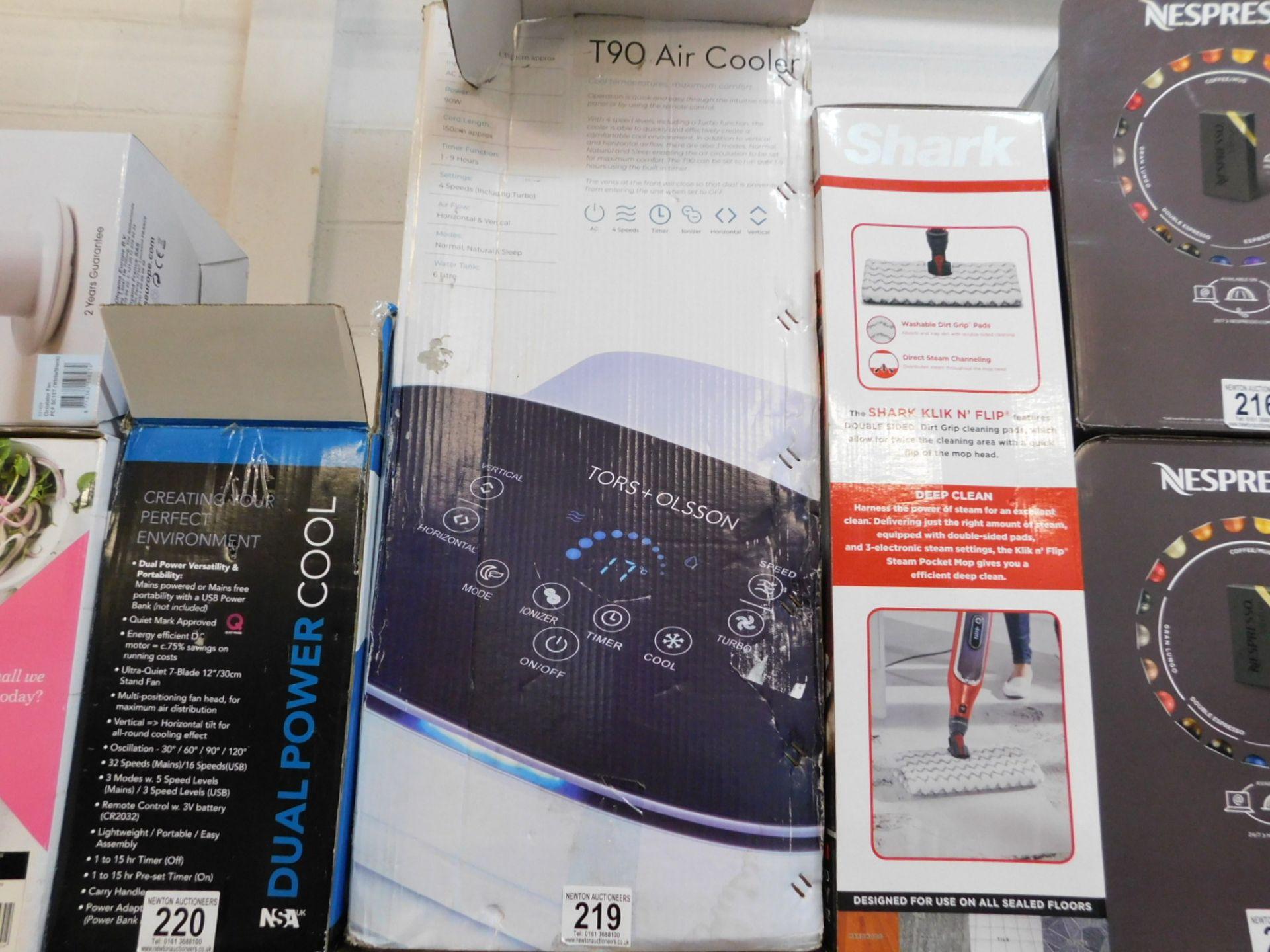 1 BOXED TORS + OLSSON T90 AIR COOLER RRP £149.99