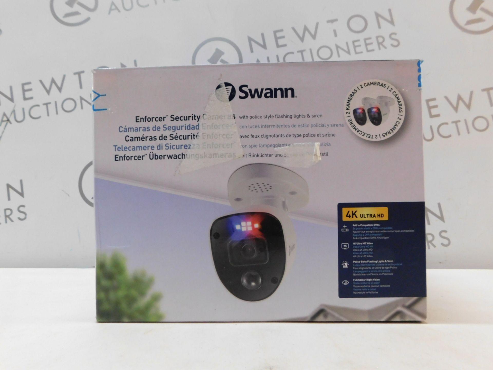 1 BOXED SWANN ENFORCER SWPRO-1080SLPK2-EU FULL HD ADD-ON SECURITY CAMERAS - 2 CAMERAS RRP £99