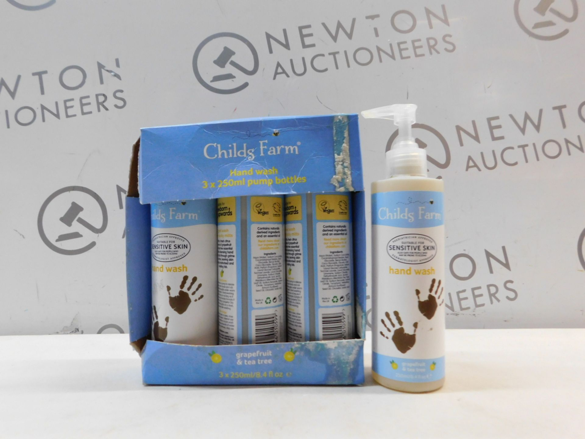 1 BOXED SET OF 3+1 CHILDS FARMING HAND WASH RRP £14.99