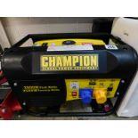 1 CHAMPION 196CC CPG3500 50HZ 120/240V PETROL GENERATOR RRP £349.99