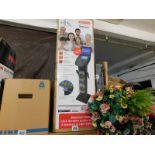 1 BOXED KARAOKE MACHINE EASY SYSTEM WITH BLUETOOTH & CD PEDESTAL EKS878BT RRP £299