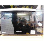 1 PANASONIC NN-DF386B 3-IN-1 1000W 23L BLACK COMBINATION MICROWAVE OVEN RRP £279.99