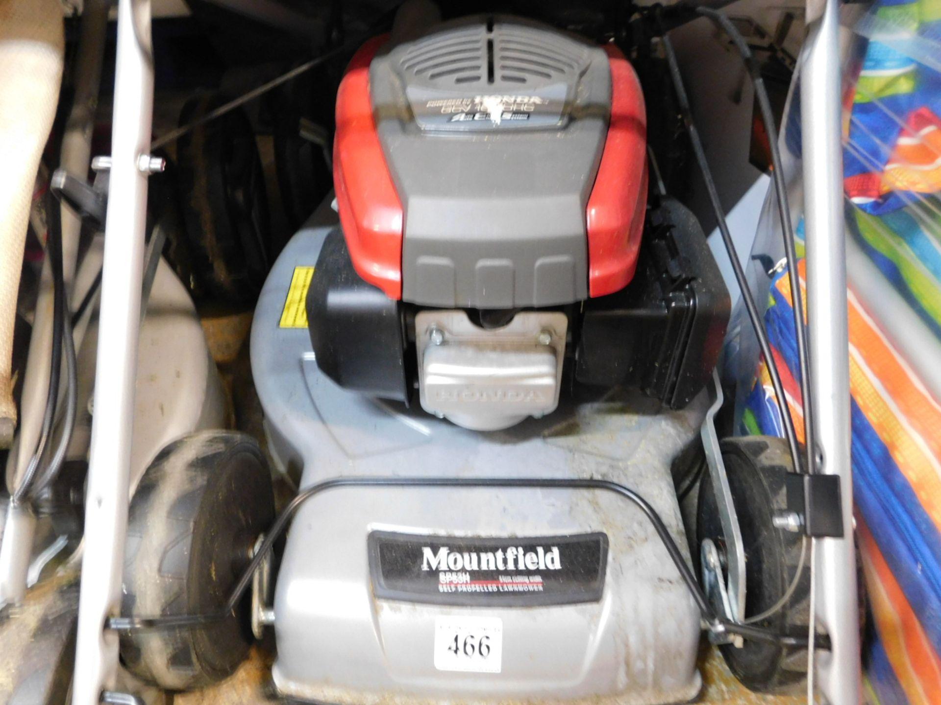 1 MOUNTFIELD SP53H SELF PROPELLED PETROL LAWNMOWER POWERED BY HONDA RRP £349.99