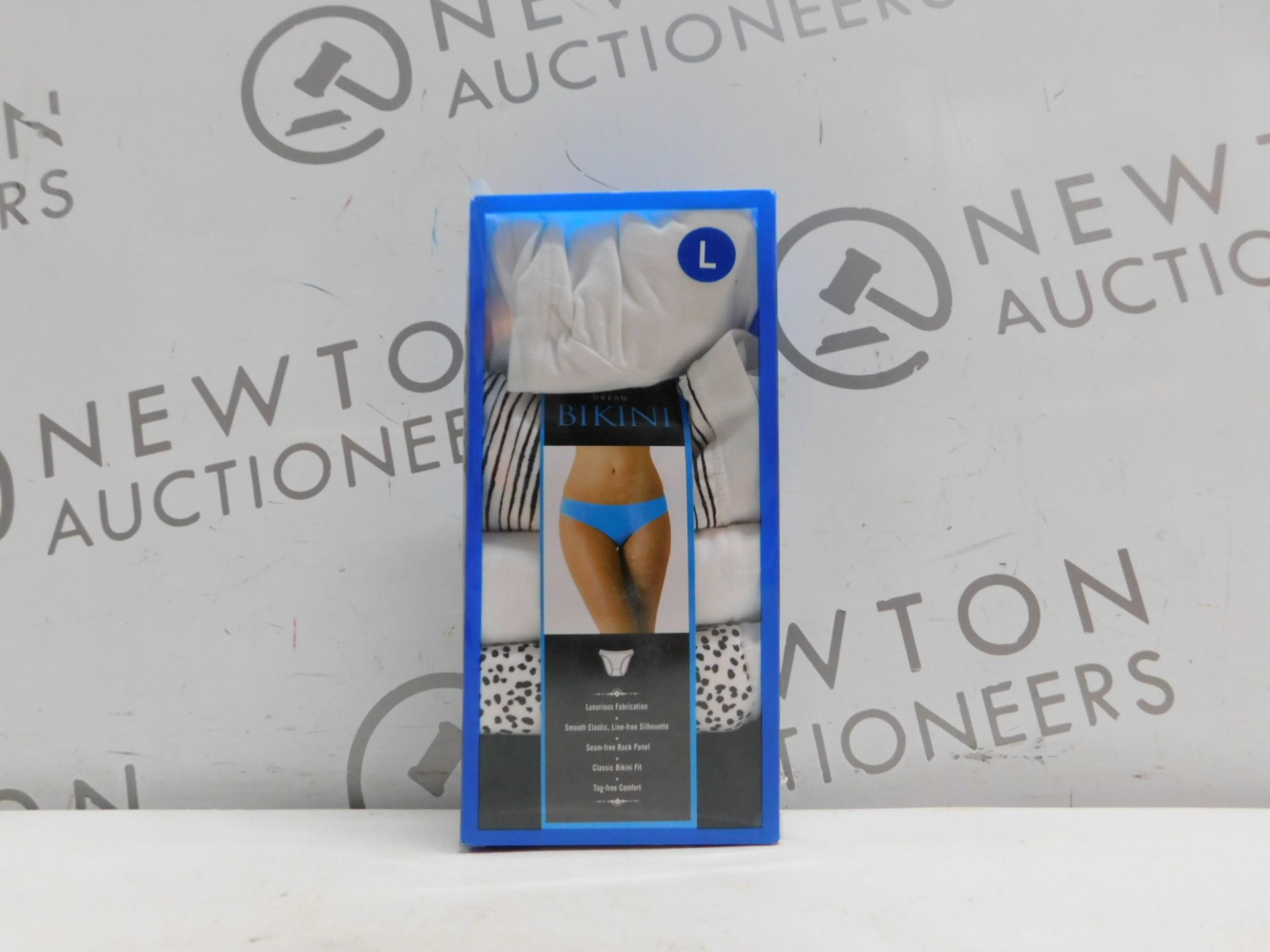 1 BOXED FRENCH DRESSING BIKINI 5 PACK PANTIES SIZE L RRP £49