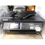 1 EPSON WORKFORCE WF-7610 ALL IN ONE PRINTER RRP £199